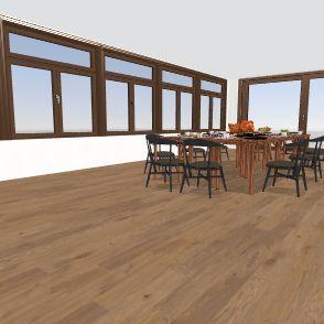 dining rooooooooom Interior Design Render