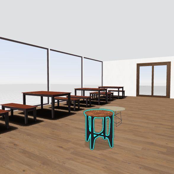 Re; Cafe Interior Design Render