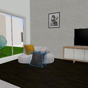 camille Interior Design Render