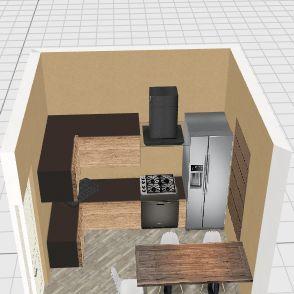 Design kitchen kursk 46 Interior Design Render