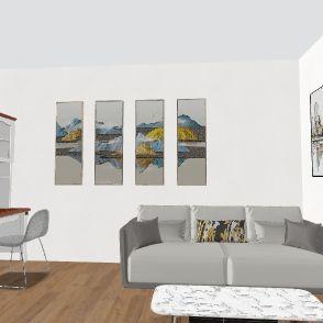 Home Office Design Interior Design Render