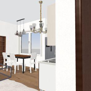 Science Tree House Interior Design Render