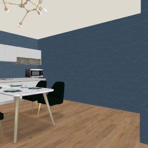 bruh house Interior Design Render
