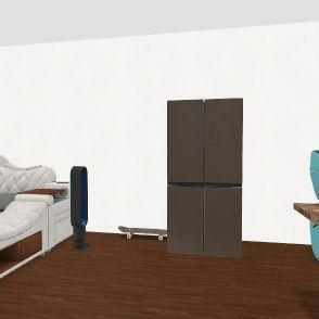 sick room bro Interior Design Render