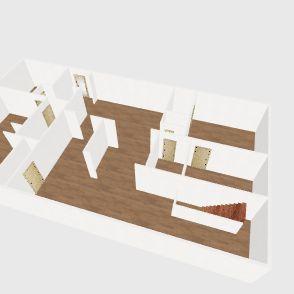 Lake House (First Floor) Interior Design Render