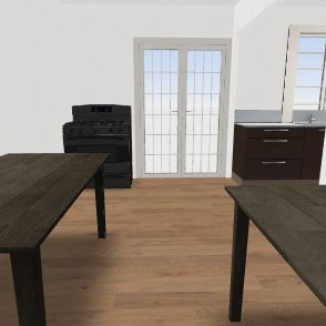 3 dormitorios, cocina y lavadero  100 m2 Interior Design Render