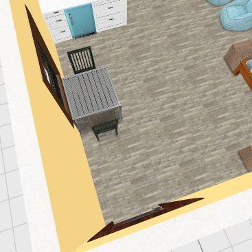 Cabin 3 Interior Design Render