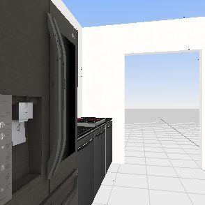 Floor Plan Kitchen Interior Design Render