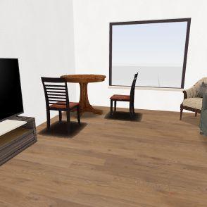 2 Grandma's New Apartment!  Interior Design Render