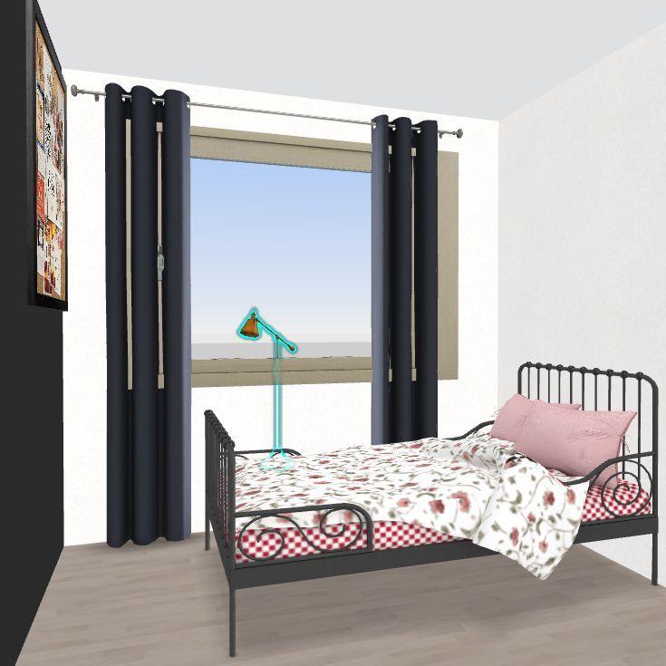 dom tymczasowo Interior Design Render