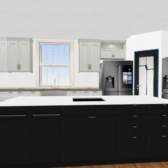 79 granite Interior Design Render