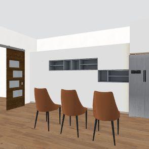 sflat Interior Design Render