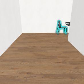 Actaul house Interior Design Render