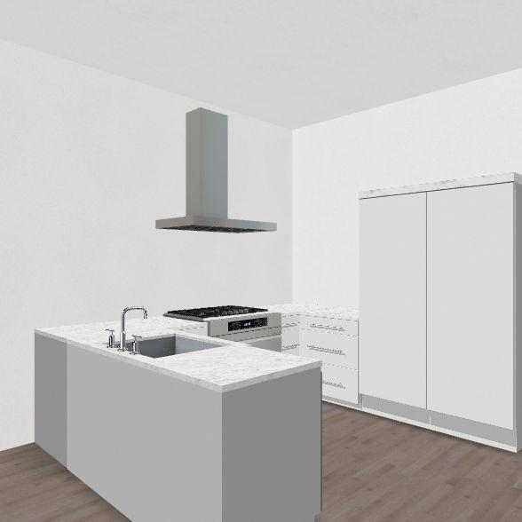 appartement 07 Interior Design Render