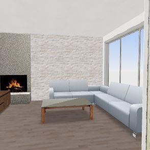 dnevna soba Interior Design Render