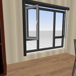 Room kitchen  Interior Design Render