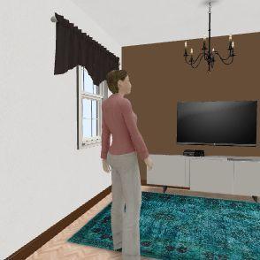Casa Simone 1º Andar Interior Design Render
