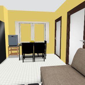 rumah Interior Design Render
