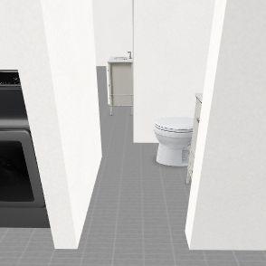 Nansmond bathroom jack and jill mess up Interior Design Render
