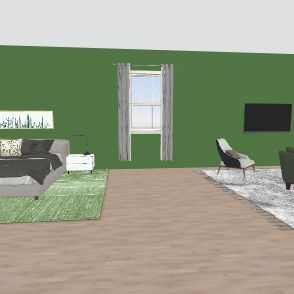 new upstairs Interior Design Render