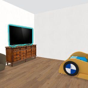 Aiden's room Interior Design Render