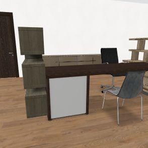recepção rh Interior Design Render