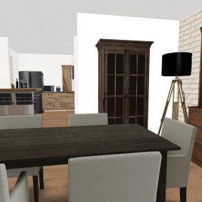Projet 2 : extension courette entrée dépendance Interior Design Render