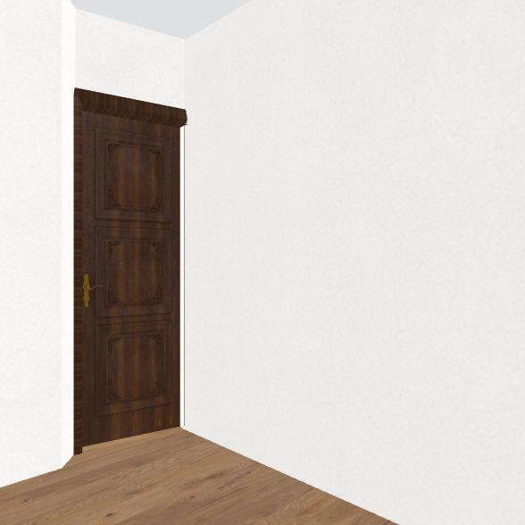 Holly Bedroom Interior Design Render