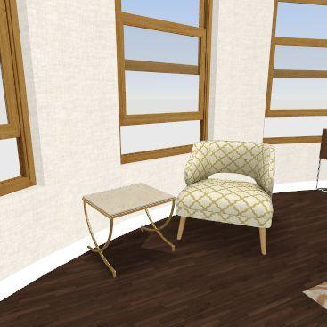 victorian narrow house - 2nd floor Interior Design Render
