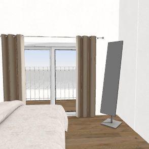 Esboço do projeto residencial Interior Design Render