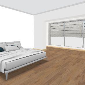 учебный проект по плану 2 спальня Interior Design Render