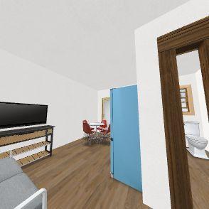 willis condos Underground studio  Interior Design Render