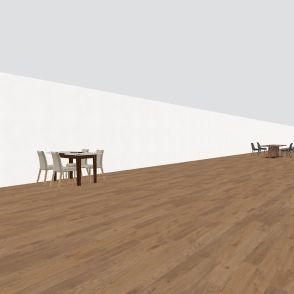 cafe 69 Interior Design Render