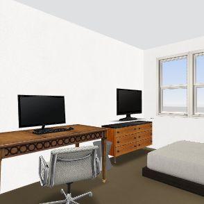 Shellie - Gaming Room 2 Interior Design Render