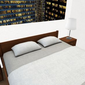 Wohnung Schlafzimmer Interior Design Render