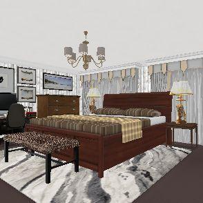 South Central LA Pretty Large Or Small Master Bedroom Suite Plaza. 8/22/19. Interior Design Render