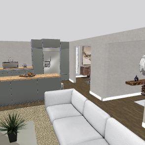 Casa Americana Interior Design Render