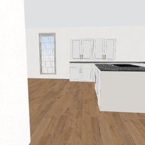 1st Floor remodel Interior Design Render