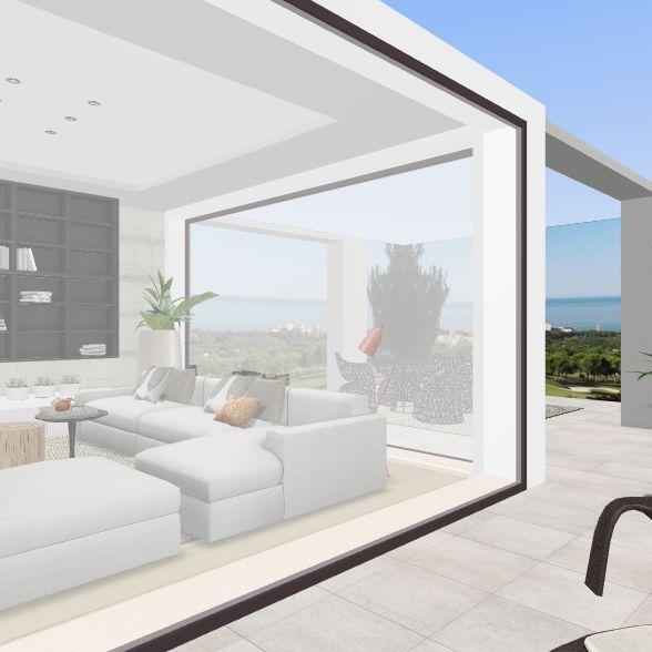 Luxury villa in Southern Spain Interior Design Render