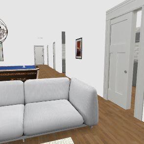 REal HOuse  Interior Design Render
