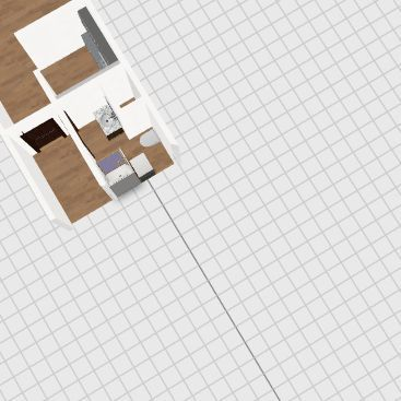 Lumírova 11 byt 1+kk Interior Design Render
