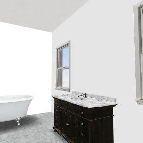 1 bed appt.  Interior Design Render