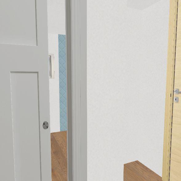 Billows/Low floor plan no furniture Interior Design Render