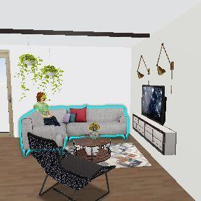 zabki maly stol Interior Design Render
