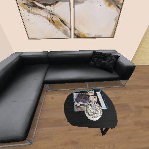 Vizsga munka Interior Design Render