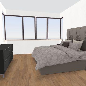 NYC APPT BIG BED + PLANTY OF WINDOWS Interior Design Render