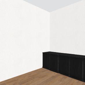 Music Storage Interior Design Render
