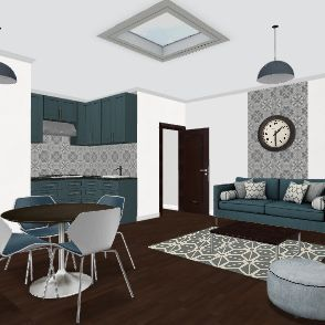 APARTEMENT Interior Design Render