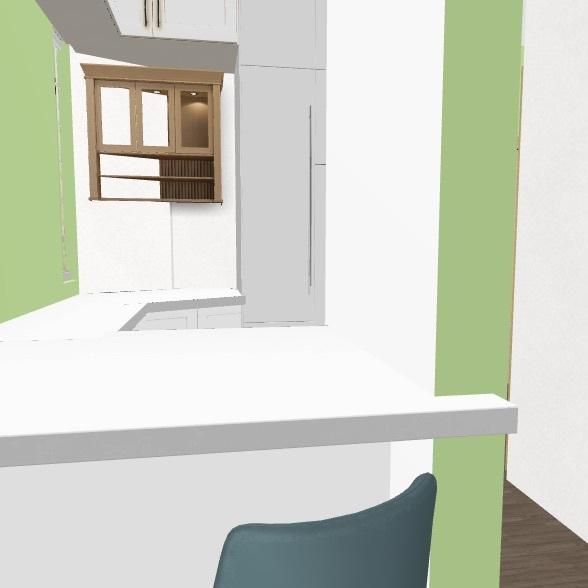 Диван по центру   Interior Design Render