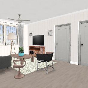 Sloans Beach House Interior Design Render